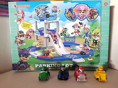 Paw Patrol Playset - NEW parking lot toy