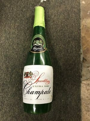 Extra Dry Champale Blow Up Inflatable Advertisement Bottle
