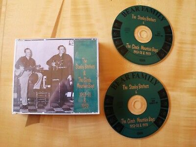 Stanley Brothers & the Clinch Mountain Boys - 1953-1958 & 1959