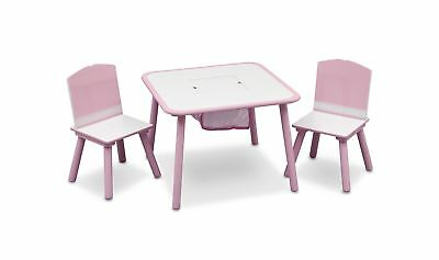 Delta Children Table and Chair Set (Pink) .