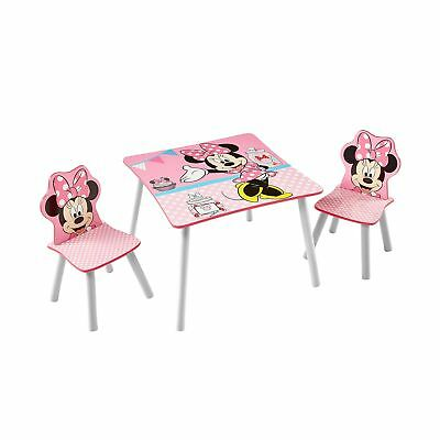 Disney Minnie Mouse Kids Table and 2 Chair Set by HelloHome .