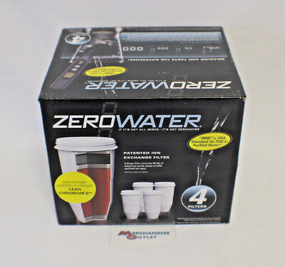 ZeroWater Replacement Filters (4 Pack)