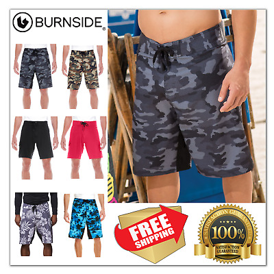 e4cc93f55f BURNSIDE CAMO DIAMOND Dobby Board Shorts B9371 30-40 Swim Trunks Mens  Swimwear - $20.99 | PicClick