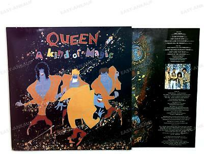 Queen - A Kind Of Magic Europe LP 1986 FOC + Innerbag /4