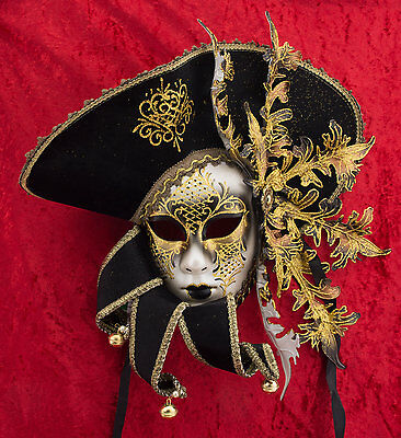 Mask from Venice Jack Sparrow Pirate Collection of Caribbean Top Range - 884