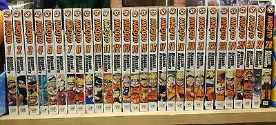 Naruto Volumes 1 to 28 Run Excellent Condition Manga Comics Graphic Novels