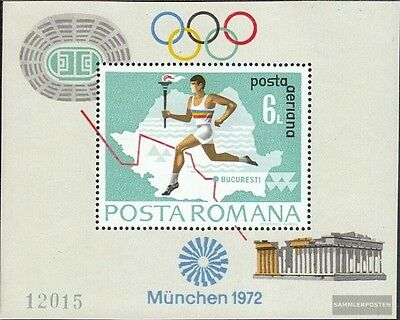 Romania block93 (complete issue) unmounted mint / never hinged 1972 Olympics Sum