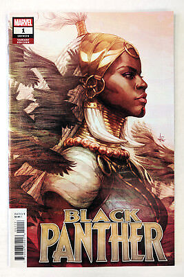 "Black Panther #1 - Stanley ""Artgerm"" Lau Variant - MARVEL 2018 NM"