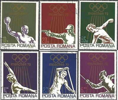 Romania 3035-3040 (complete issue) unmounted mint / never hinged 1972 olympic. S