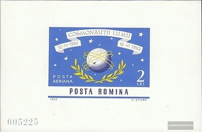 Romania block56 (complete issue) used 1964 World Space