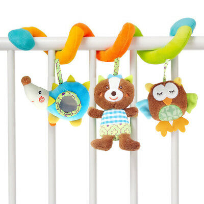 Infant Baby Activity Spiral Bed & Stroller Toy Hanging Bell Crib Rattle Toys