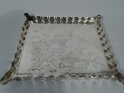 Gorham Tray - 5 - Antique Aesthetic Japonesque - American Sterling Silver