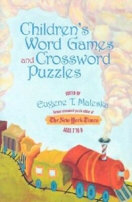 Children's Word Games and Crossword Puzzles: For Ages 7 to 9 (Children's Word Ga