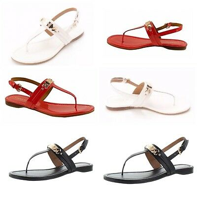 2af3374b1408 New Coach Caterine Leather Thong Sandal Shoes  Various Colors  Size 6-9