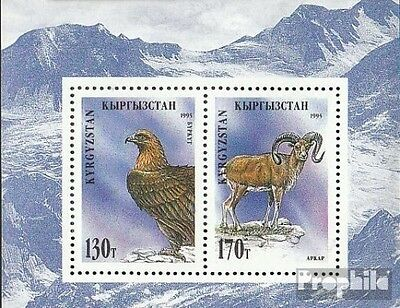 Kirgisistan block7a (complete.issue.) unmounted mint / never hinged 1995 Locals