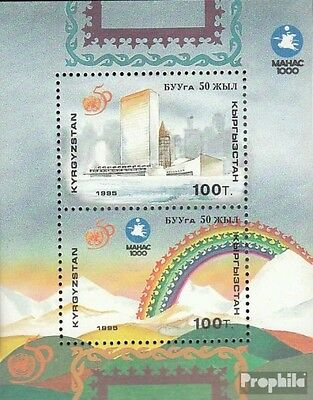 Kirgisistan block13 (complete.issue.) unmounted mint / never hinged 1995 50 year