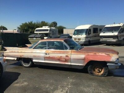 1961 Cadillac DeVille  1961 CADILLAC COUPE DE VILLE ORIG COLOR ENGINE REBUILT NEEDS RESTORATION  $2999