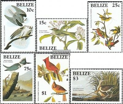 belize 784-789 (complete.issue.) unmounted mint / never hinged 1985 John James A