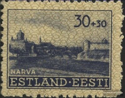 Estonia (German.cast.2.world.) 6 unmounted mint / never hinged 1941 Building