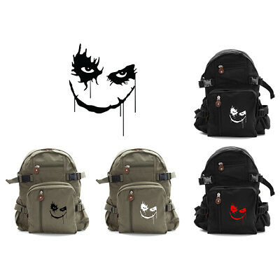 6c8e90ca60be01 KOOL AID MAN Face Army Sport Heavyweight Canvas Backpack Bag ...