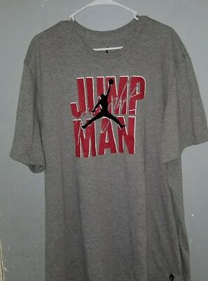 2786cb24b7d Men's NIKE Air Jordan T Shirt Graphic JUMPMAN Logo Crew Neck Size 3XL.