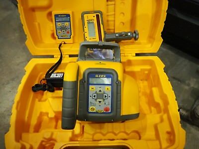 Trimble Spectra Precision GL412N Laser Level w/HL760 Receiver + RC402N and Case