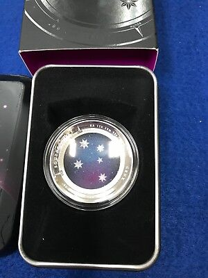 2012 $5 Southern Sky Crux Australia Domed Curved 1 oz Silver Proof Coin #3040