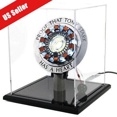 DIY Iron Man MK1 Arc Reactor Master Grade Props Display Box Stand Base USB Power