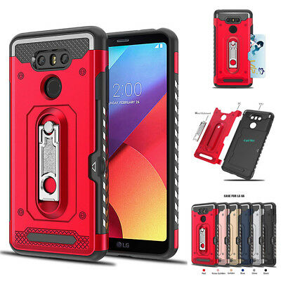 FOR LG G6 Q6 G7 G8 V30 V40 Stylo 3 4 Clear Shockproof 360