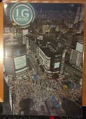 Ghost in the Shell Stand Alone Complex I.G. Store Japan Print