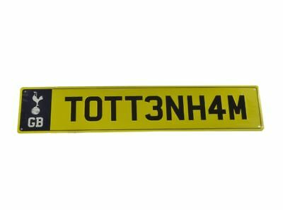 Tottenham Hotspur FC Official Football Gift Number Plate Sign