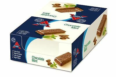 Atkins Advantage Chocolate Mint 60g Bar (Pack of 8)