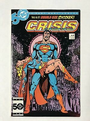 Crisis on Infinite Earth #7 (of 12) 1985 VG-VG/F 4.0/5.0 Pérez Death Supergirl
