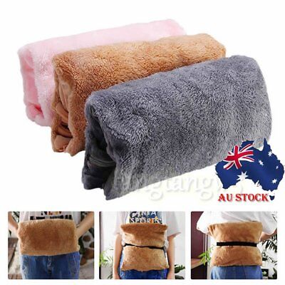 USB Rechargeable Hand Care Winter Hot Water Bottle Heater Bag Heating AU