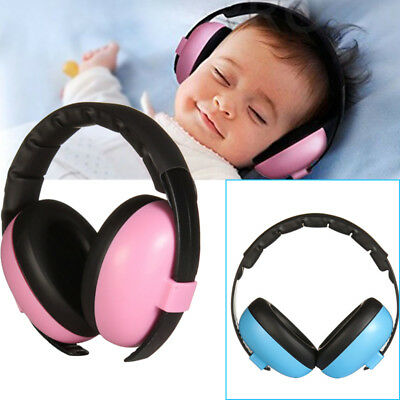 Baby Childs Ear Defenders Earmuffs Protection 0-24months Boys Girls Care x1