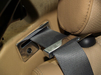 Mg Mgf Mgtf Solid Alloy Seat Belt Tidy Set & Guide Set (Both Sets)