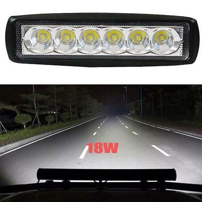 18W/800LM Bright Light Spot 6LED Work Bar Driving Fog Offroad Car Lamp