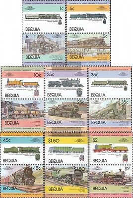 St. Vincent-Bequia 1-16 Couples mint never hinged mnh 1984 LocoThematics