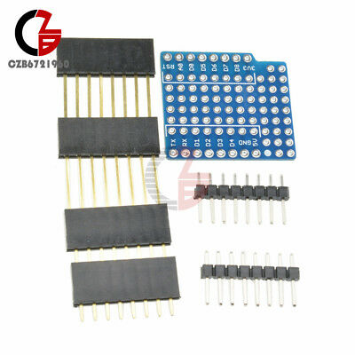WeMos D1 Mini Prototype Board Proto Shield Double Sided Perf Board for Arduino