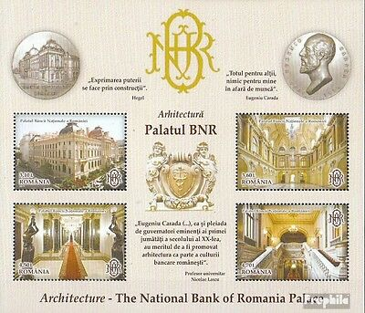 Romania Block557 (complete.issue.) unmounted mint / never hinged 2013 Architectu