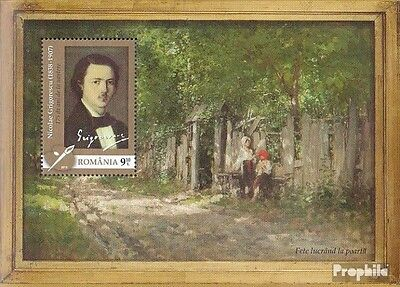 Romania Block549 (complete.issue.) unmounted mint / never hinged 2013 Painters