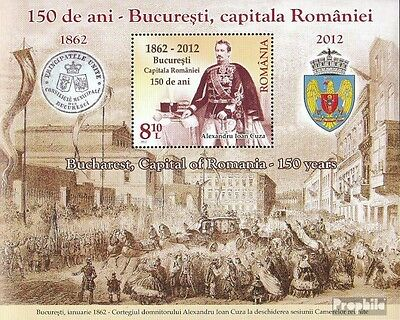 Romania Block523 (complete.issue.) unmounted mint / never hinged 2012 150 years