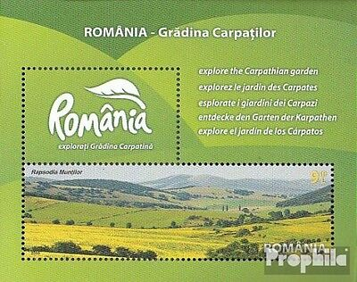 Romania Block473 (complete.issue.) unmounted mint / never hinged 2010 Tourism in