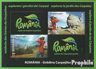 Romania Block472 (complete.issue.) unmounted mint / never hinged 2010 Tourism in