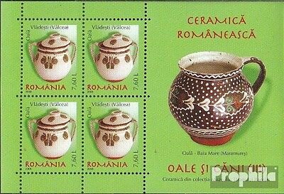 Romania Block422 unmounted mint / never hinged 2008 Romanian ceramics