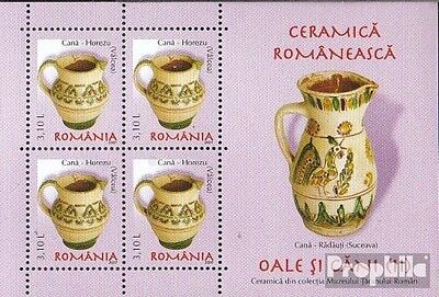 Romania Block413 unmounted mint / never hinged 2007 Romanian ceramics