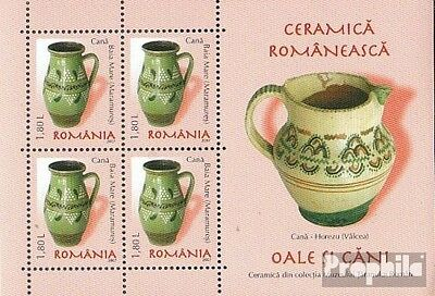 Romania Block405 unmounted mint / never hinged 2007 Romanian ceramics