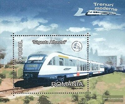 Romania block337 (complete.issue.) unmounted mint / never hinged 2004 Hochgeschw