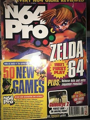 N64 Pro Magazine - Issue 10, August 1998 (Complete With Free Gift) (Nintendo 64)