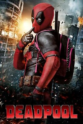 """Deadpool"".. Ryan Reynolds Classic Super Hero Movie Poster..Various Sizes"